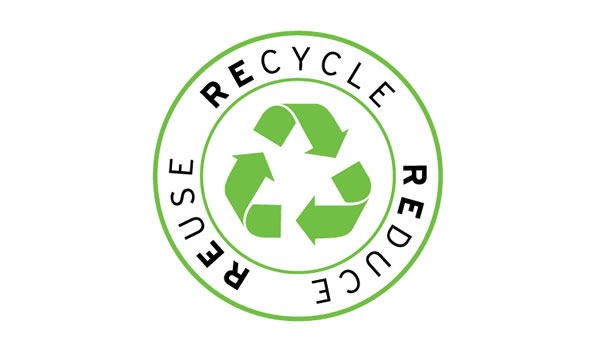 reuse, recycle and reduce logo